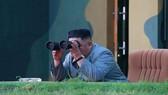 Hình ảnh nhà lãnh đạo Kim Jong-un do KCNA công bố ngày 26-7-2019. Ảnh: Reuters
