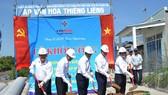 Khởi công dự án xây dựng mới lưới điện 22kV vượt biển cấp điện cho xã đảo Thạnh An (huyện Cần Giờ)