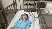 Cháu bé 1 tuổi ở Hà Nội bị bạo hành
