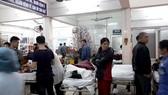 Khoa Cấp cứu, Bệnh viện Việt Đức tràn ngập bệnh nhân cấp cứu do TNGT trong những ngày nghỉ Tết nguyên đán 2018