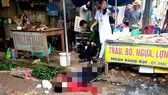 Kinh hoàng một phụ nữ bị bắn chết giữa chợ Bến Tắm