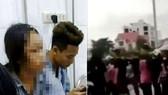 Nữ sinh L. vẫn đang được điều trị trong bệnh viện sau khi bị nhiều học sinh ở các trường khác đánh hội đồng