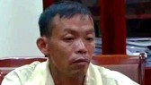 Đối tượng Sắt bị bắt giữ sau khi giết chết 2 người thân