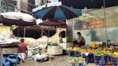Chợ vẫn họp xung quanh khu vực xảy ra vụ cháy Công ty Rạng Đông