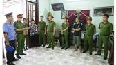 Cơ quan chức năng đọc lệnh bắt khẩn cấp Trịnh Thị Bích Trâm.