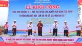 Khơi công xây dựng nhà máy xử lý nước thải ở Quảng Trị