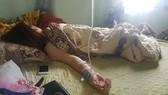 Chi A. trong trạng thái hoảng loạn, suy nhược cơ thể sau khi xảy ra vụ việc