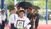 Lễ truy điệu và an táng hài cốt liệt sĩ tại nghĩa trang liệt sĩ tỉnh Đồng Nai