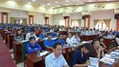 """Các đại biểu tham dự Hội thảo """"Bình Phước - Những tiền đề cho khởi nghiệp và đổi mới sáng tạo trong thời đại Cách mạng Công nghiệp 4.0"""""""