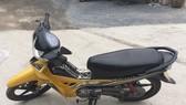 Chiếc xe máy 2 đối tượng dùng để gây án