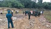 Sáng 17-10, các lực lượng chức năng đã tìm thấy thi thể ông H. trên sông