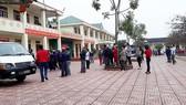 Em Trần T. P. L. tử vong trong tư thế treo cổ trong phòng học trên lầu 2 của Trường THCS Tân Lâm