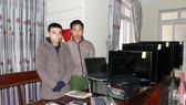 2 đối tượng bị bắt giữ cùng tang vật (Nguồn ảnh: Công an tỉnh Hà Tĩnh)
