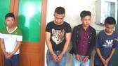 Các đối tượng bị bắt giữ