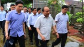 Thủ tướng Chính phủ kiểm tra mô hình nông thôn mới ở Hà Tĩnh