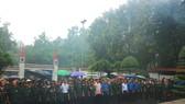 Các cựu chiến binh, cựu TNXP về dâng hoa, thắp hương tại Khu mộ 10 nữ anh hùng liệt sĩ TNXP Ngã ba Đồng Lộc