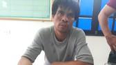 Nguyễn Văn Chiến bị bắt giữ cùng tang vật