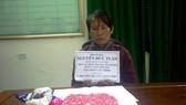 Đối tượng Nguyễn Đức Tuấn bị bắt cùng tang vật
