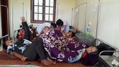 Các bệnh nhân điều trị tại Bệnh viện Đa khoa huyện Hương Khê