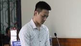 Bị cáo Nguyễn Thành Nam tại phiên tòa