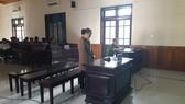 Bị cáo Mai Thùy Linh tại phiên tòa