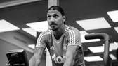 Zlatan Ibrahimovic nhiều lần khoe ảnh tích cực tập luyện.