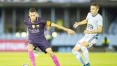 Barca (trái) không quá khó để có được 3 điểm trước Celta Vigo. Ảnh: Getty Images.