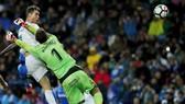 Ronaldo lập kỷ lục, qua đó giúp Real giành chiến thắng. Ảnh: Getty Images