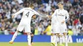 Ramos và Kroos sẽ có cuộc đối đầu thú vị với nhau trên sân. Ảnh: Getty Images