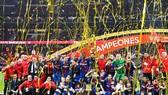 Barca lên ngôi vô địch Cúp nhà Vua Tây Ban Nha. Ảnh: Getty Images