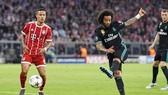 Marcelo ghi bàn gỡ hòa cho Real. Ảnh: Getty Images