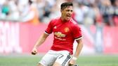 Alexis Sanchez đã bắt đầu chứng tỏ giá trị tại Man.United. Ảnh: Getty Images