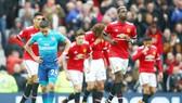 Man.United đã tiến sát những mục tiêu của mùa giải khi khuất phục Arsenal. Ảnh: Getty Images