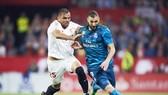 Real đã phải nhận thất bại trước Sevilla. Ảnh: Getty Images