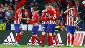 Atletico đã xuất sắc đánh bại Arsenal để vào chung kết.  Ảnh: Getty Images