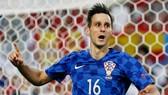 Nikola Kalinic trong màu áo tuyển Croatia. Ảnh: Getty Images