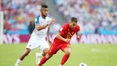 Hazard và đồng đội có hiệp một không mấy dễ dàng trước Panama. Ảnh Getty Images