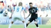 Lionel Messi sẽ đối mặt với thách thức không dễ dàng từ Croatia. Ảnh: Getty Images