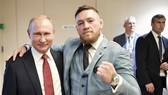 McGregor và Tổng thống Putin. Ảnh Instagram nhân vật.