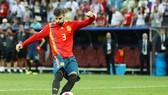Pique đã chính thức chia tay tuyển quốc gia. Ảnh: Getty Images