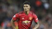 Marcus Rashford thất vọng với tình hình ở Man.United. Ảnh: Getty Images