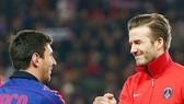 Messi sẽ giúp Beckham đánh bóng tên tuổi Inter Miami. Ảnh soccerladuma.