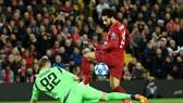 Mohamed Salah đã thật sự tìm lại bản năng săn bàn. Ảnh: Getty Images