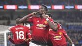 Paul Pogba đã tỏa sáng trở lại khi Quỷ đỏ mang một hình hài mới. Ảnh: Getty Images