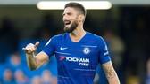 Olivier Giroud đang thất vọng ở Chelsea. Ảnh: Getty Images