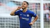 Eden Hazard một lần nữa công khai muốn rời Chelsea. Ảnh: Getty Images