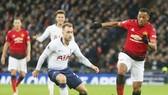 Anthony Martial (phải) đang tìm lại hạnh phúc tại Man.United. Ảnh: Getty Images