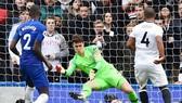 Kepa Arrizabalaga đã có màn trở lại khá tốt. Ảnh: Getty Images