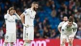 Real Madrid đã phải hứng chịu một trong những thất bại nặng nề nhất lịch sử. Ảnh: Getty Images