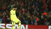 Lionel Messi gặm nhắm thất vọng sau thất bại. Ảnh: Getty Images